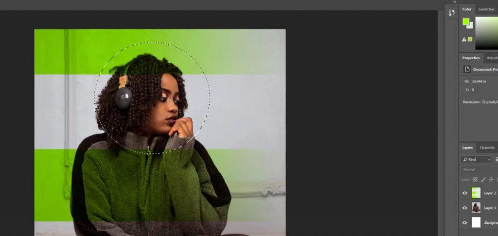 تکنیک ساخت پوستر با کمک اشکال در نرم افزار فتوشاپ