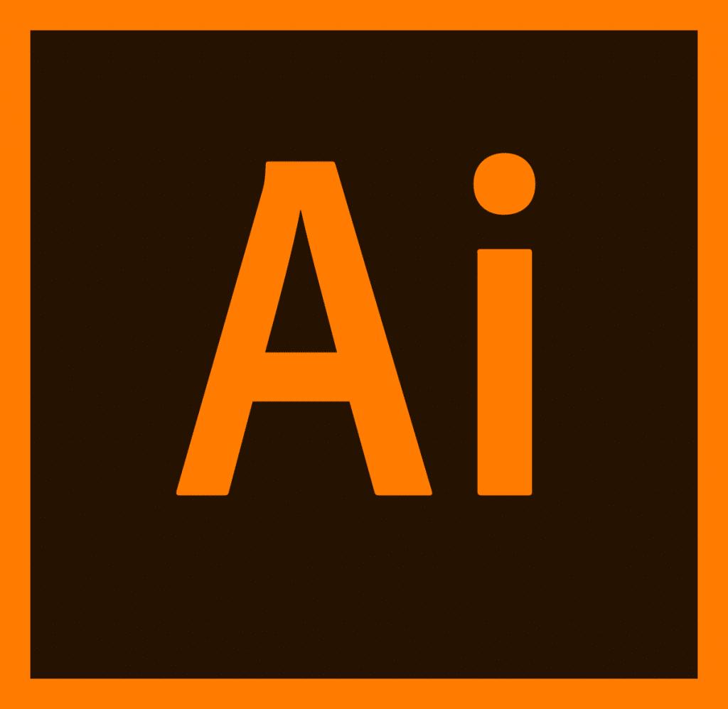 لوگوی نرم افزار ایلوستریتور - adobe illustrator logo
